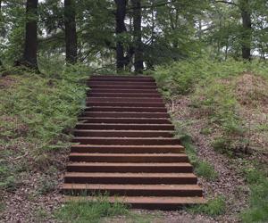 20070506 Heimerberg Utrechts Landschap, cortenstalen trap